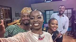 Watch Ebuka, Lamide and Zainab talk about any and everything with a dash of wit from the comfort of their loft on the SpOt. 8:00 PM GMT, Ebonylifetv Dstv Ch.