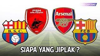 Download Video Logo Klub Sepak Bola Di Dunia Yang Mirip Dengan Klub Eropa ● Siapa Yang Jiplak? ● Starting Eleven MP3 3GP MP4