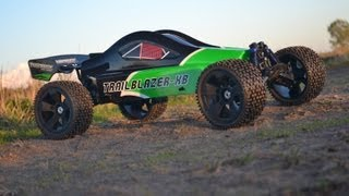 1/6 Scale Turnigy Trailblazer XB Brushless RC Buggy Modifications