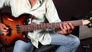 Jack White - Lazaretto - How to Play the Riff On Guitar and Bass - Tutorial