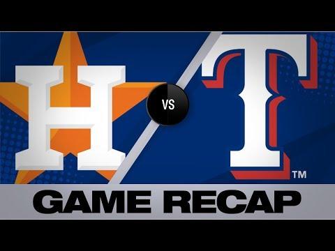 Video: Santana's walk-off single lifts Rangers past Astros | Astros-Rangers Game Highlights 7/12/19