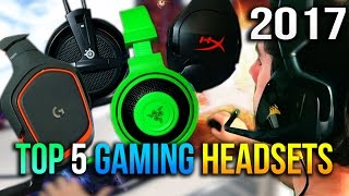 Video Top 5 Gaming Headsets to Buy Under $50 in 2017 MP3, 3GP, MP4, WEBM, AVI, FLV Juli 2018