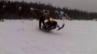 7. 2008 Ski-doo MXZ 500ss wheelie