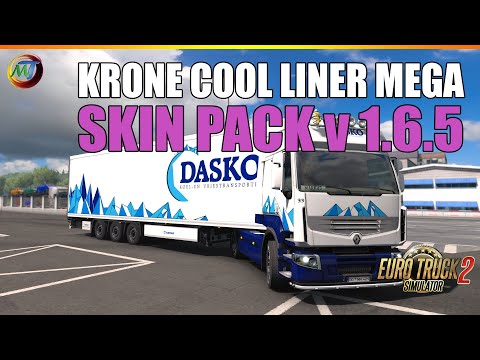Krone Cool Liner Mega Skin Pack v1.6.5