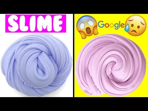 GOOGLE DECIDE MI SLIME 😱| GOOGLE PICKS MY SLIME!