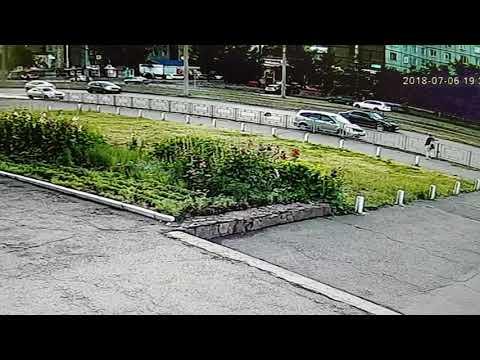 ДТП с пешеходом в Красноярске на улице Щорса