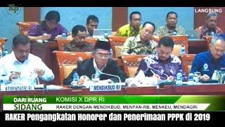 Download Video Pengumuman Penerimaan PPPK, Hasil RAKER DPR-RI Tentang Pengangkatan PPPK 2019 Part 1 MP3 3GP MP4
