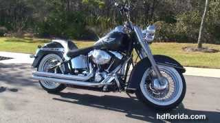 7. 2005 Harley Davidson Softail Deluxe  - Used Motorcycles for sale - Gainesville, FL