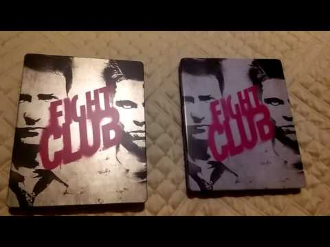 FIGHT CLUB STEELBOOK Vs METAL PAK