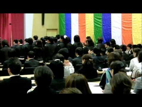 岐阜聖徳学園大学附属中学校 平成26年4月 入学式