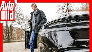 Porsche Taycan (2019) Walter Röhrl testet den Elektro-Porsche by Auto Bild