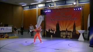 Jeanette Uhl & Mario Bludau - Landesmeisterschaft Rheinland-Pfalz und Saarland 2015