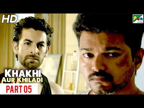 Khaki Aur Khiladi   New Released Hindi Dubbed Movie   Part 05   Vijay, Samantha Ruth Prabhu