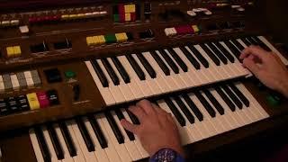 Elvis Presley's Love Me Tender and Wooden Heart - Yamaha Electone C-605 played by Darren Jones