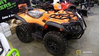 8. 2018 Argo Xplorer XR 500 LE Recreational ATV - Walkaround - 2018 Toronto ATV Show