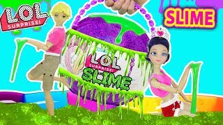 Video LOL de Slime Gigante | Marinette y Adrien descubren Slime LOL MP3, 3GP, MP4, WEBM, AVI, FLV Juli 2018