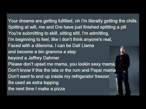 Eminem – Must Be The Ganja lyrics [HD]