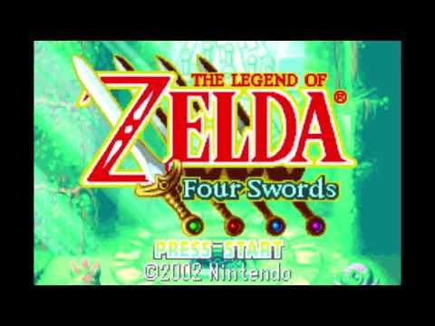 The Legend Of Zelda Four Swords GBA - Boss Battle Theme Extended