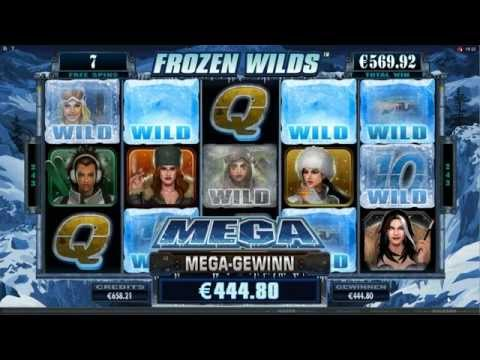 Girls with Guns - Frozen Dawn Slot - Frozen Wilds Feature - Mega Big Win (734x Bet)