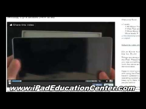 How To Use iPad – Apple iPad Tutorial and Instructions