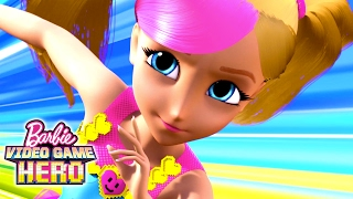 Nonton Barbie Video Game Hero Movie Exclusive 11 Minute Premiere   Barbie Film Subtitle Indonesia Streaming Movie Download
