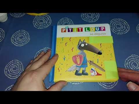 P'tit Loup se déguise / Histoire pour les enfants en Français