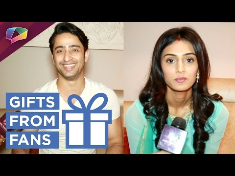 Shaheer Sheikh and Erica Fernandes receive gifts f
