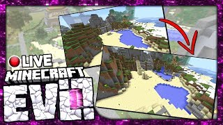 •NEW COMPUTER HYPE!!   Minecraft Evolution SMP LIVE!