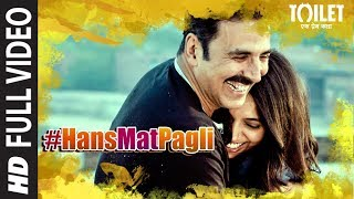 """Hans Mat Pagli (Duet)"" Full Video  Toilet- Ek Prem Katha  New Hindi Song 2017Presenting the full video song ""Hans Mat Pagli (Duet)"" from the upcoming Hindi Bollywood movie ""Toilet - Ek Prem Katha"", This movie is a satirical take on a battle against the age-old tradition of open defecation in the country. From the panchayat to the sanitation department, from the role of the government to the superstitions of the villagers, from scams to the ethos, from first love to a matured romance.Star Cast:Akshay Kumar, Bhumi Pednekar, Divyendu Sharma, Sudhir Pandey, Shubha Khote and Anupam Kher,.Catch the movie in theaters on 11th August 2017Get it on iTunes - http://bit.ly/HansMatPagli_ToiletEkPremKatha_iTunesAlso, Stream it onHungama - http://bit.ly/HansMatPagli_ToiletEkPremKatha_HungamaSaavn - http://bit.ly/HansMatPagli_ToiletEkPremKatha_SaavnGaana - http://bit.ly/HansMatPagli_ToiletEkPremKatha_GaanaApple Music - http://bit.ly/HansMatPagli_ToiletEkPremKatha_AppleMusicGoogle Play - http://bit.ly/HansMatPagli_ToiletEkPremKatha_GooglePlayPresented by:Viacom18 Motion Pictures, KriArj Entertainment, Plan C Studios & Cape Of Good FilmsProduced by: Aruna Bhatia, Shital Bhatia, Abundantia, Viacom18 Motion Pictures, Arjun N Kapoor & Hitesh ThakkarFor  Caller Tunes:""Has Mat Pagli"" http://bit.ly/2s0jozHJab Se Mila Hoon - Hans Mat Pagli http://bit.ly/2sQcAaYJaisi Nadiya - Hans Mat Pagli http://bit.ly/2tWUsdJSet as Caller Tune:Set ""Has Mat Pagli"" as your caller tune - sms TOILET1 To 54646Set ""Jab Se Mila Hoon - Hans Mat Pagli"" as your caller tune -sms TOILET2 To 54646Set ""Jaisi Nadiya - Has Mat Pagli"" as your caller tune - sms TOILET3 To 54646________________________________________Song Credits:Song - Hans Mat Pagli (Duet)Singer - Sonu Nigam, Shreya GhoshalMusic Director - Vickey Prasad Lyrics - Siddharth - GarimaMusic Label - T-Series -------------------------------------------------------------------Operator Codes: 1.Has Mat PagliVodafone Subscribers Dial 5379634418Airtel Subscribers Dial 5432116279666Reliance Subscribers SMS CT 9634418 to 51234Idea Subscribers Dial 567899634418Tata DoCoMo Subscribers dial 5432119634418Aircel Subscribers sms DT 6701381  To 53000BSNL (South / East) Subscribers sms BT 9634418 To 56700BSNL (North / West) Subscribers sms BT 6701381 To 56700Virgin Subscribers sms TT 9634418 To 58475MTS Subscribers  sms CT 6701294 to 55777Telenor Subscribers dial 50019634418MTNL Subscribers sms PT 9634418 To 567892.Jab Se Mila Hoon - Hans Mat PagliVodafone Subscribers Dial 5379634404Airtel Subscribers Dial 5432116279716Reliance Subscribers SMS CT 9634404 to 51234Idea Subscribers Dial 567899634404Tata DoCoMo Subscribers dial 5432119634404Aircel Subscribers sms DT 6701382  To 53000BSNL (South / East) Subscribers sms BT 9634404 To 56700BSNL (North / West) Subscribers sms BT 6701382 To 56700Virgin Subscribers sms TT 9634404 To 58475MTS Subscribers  sms CT 6701295 to 55777Telenor Subscribers dial 50019634404MTNL Subscribers sms PT 9634404 To 567893.Jaisi Nadiya - Has Mat PagliVodafone Subscribers Dial 5379634398Airtel Subscribers Dial 5432116279686Reliance Subscribers SMS CT 9634398 to 51234Idea Subscribers Dial 567899634398Tata DoCoMo Subscribers dial 5432119634398Aircel Subscribers sms DT 6701383  To 53000BSNL (South / East) Subscribers sms BT 9634398 To 56700BSNL (North / West) Subscribers sms BT 6701383 To 56700Virgin Subscribers sms TT 9634398 To 58475MTS Subscribers  sms CT 6701296 to 55777Telenor Subscribers dial 50019634398MTNL Subscribers sms PT 9634398 To 56789___Enjoy & stay connected with us!► Subscribe to T-Series: http://bit.ly/TSeriesYouTube► Like us on Facebook: https://www.facebook.com/tseriesmusic► Follow us on Twitter: https://twitter.com/tseries► Follow us on Instagram: http://bit.ly/InstagramTseries"