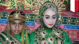Heboh! Pernikahan dini ABG 14 tahun asal Bulukumba Sulawesi Selatan ini jadi viral - TomoNews