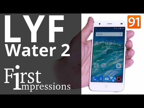 LYF Water 2 : First impressions | First Look