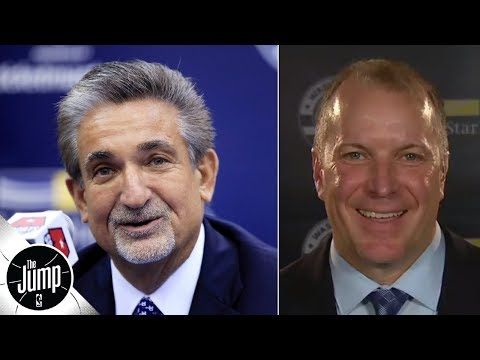 Video: New Wizards GM explains how he convinced the team's owner to give him the full-time job | The Jump