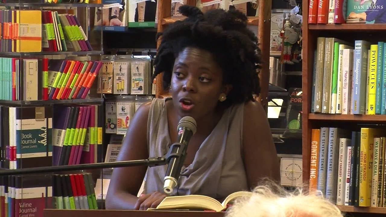 Yaa Gyasi at Harvard Bookstore
