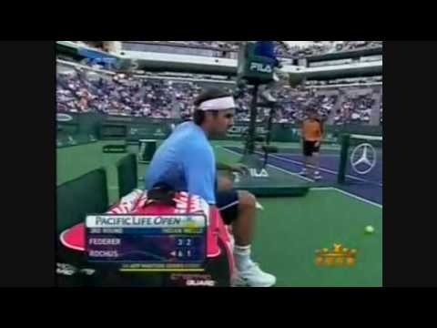 Olivier Rochus vs Roger Federer