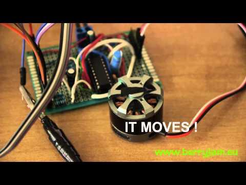MFurkan Bahat: Brushless Motor Control with Arduino