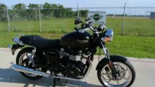10. 2009 Triumph Bonneville Only 65 Miles: Overview and  Review