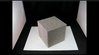 Massive Zen Magnet Cube Looks Really Cool
