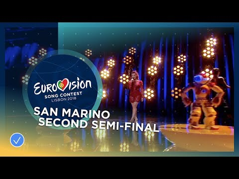 Eurovisie songfestival 2018, Robot makes its debut
