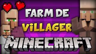 Video ✔ Minecraft: FARM DE VILLAGER! // Aldeões Infinitos (Automática) [PC e PE] MP3, 3GP, MP4, WEBM, AVI, FLV Mei 2019