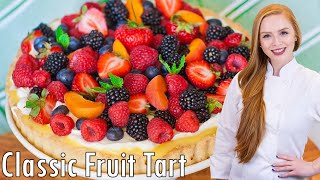 Classic Fruit Tart by Tatyana's Everyday Food