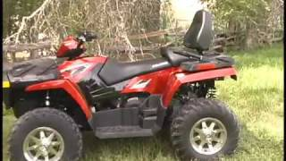 9. ATV Television Test - 2009 Polaris Sportsman Touring 800