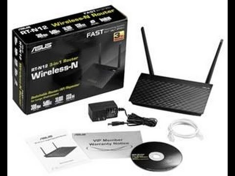 Asus RT-N12 3-in-1 Router Unboxing
