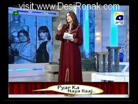 Nadia Khan Show – 24th June 2012 part 1