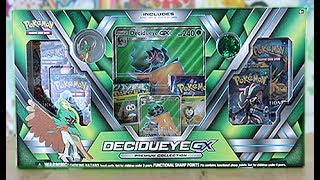 Today we are opening A Decidueye GX Premium Collection Box!! These bad boys come with a Full Art Decidueye 2 Promos and a stack of booster Packs!! Do we have the best Decidueye GX Premium Collection Box Opening Ever? Stay Tuned.