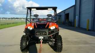 5. 2012 Polaris Ranger 800 XP HO EPS Orange Madness LE with Lift and 29.5