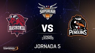 SUPERLIGA ORANGE - THUNDERX3 BASKONIA VS THE G-LAB PENGUINS - Mapa 1 - #SUPERLIGAORANGELOL5
