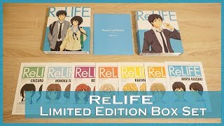 Nonton Anime Unboxing | ReLife (リライフ) - Limited Edition [blu-ray/dvd combo] 2017 Film Subtitle Indonesia Streaming Movie Download