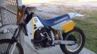 10. Vintage husqvarna 1988 TE 510 four stroke.