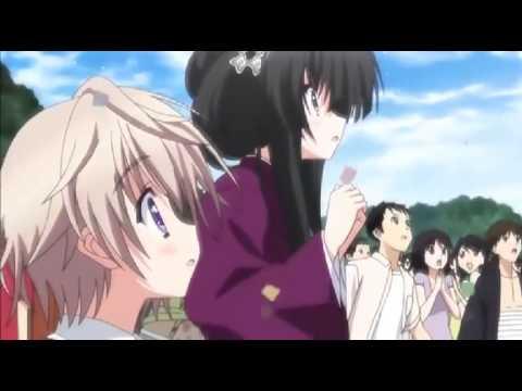 A bridge under the starry skies Ui and Kazuma love confession Hoshizora e Kakaru Hashi