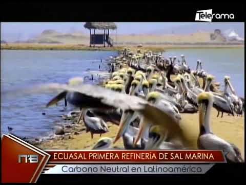 Ecuasal primera refinería de sal marina carbono neutral en Latinoamérica